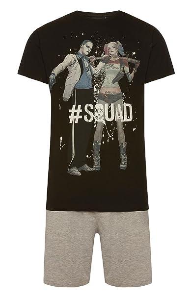 Primark - Pijama - para hombre multicolor negro, gris Small