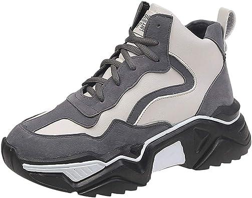 Zapatos para Mujer Zapatos de Plataforma Zapatillas Altas Mujer Zapatos Deportivos Zapatillas Mujer Sneakers Breathable Estudiante: Amazon.es: Zapatos y complementos