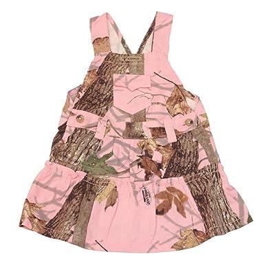 44246b0c67b1d Amazon.com: King's Camo - Infant/Toddler Jumper - Woodland Pink Camo ...