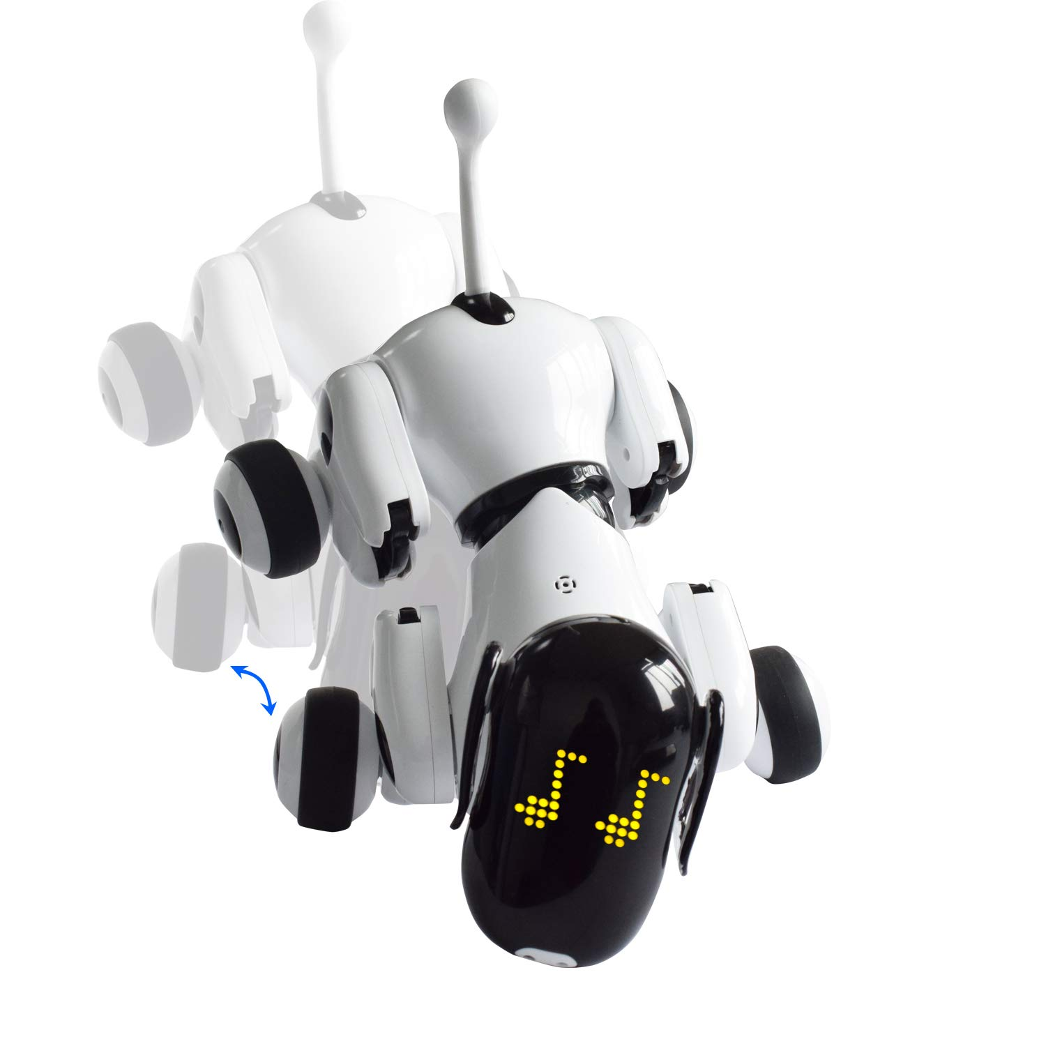 Contixo Independance Day Puppy Smart Interactive Robot Pet Toy for Kids, Voice, App, and Touch Controlled by Contixo (Image #7)