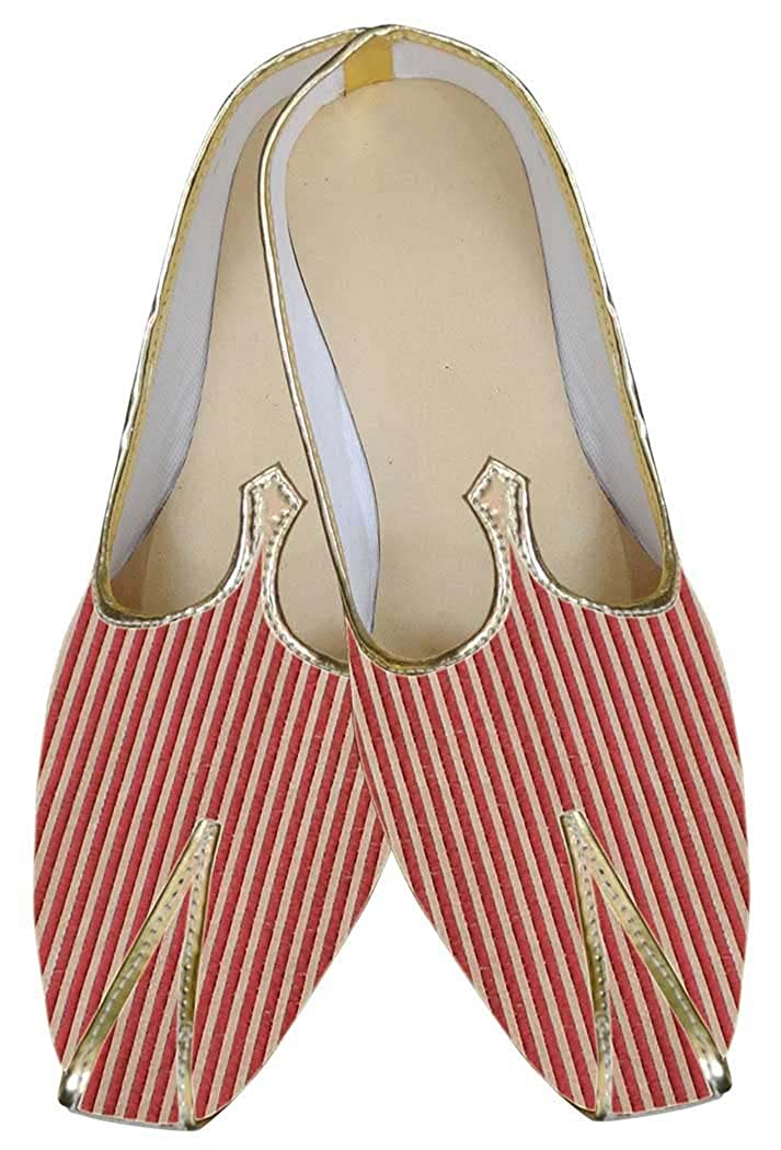 INMONARCH Hombres Rojo Gallardo Buscar Novio Zapatos MJ0061 39 EU