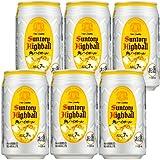 サントリー角ハイボール350ml缶 6缶