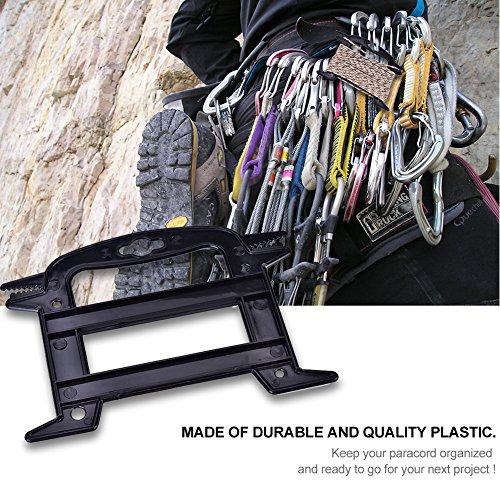 Dilwe 5Pcs Paracord Winder, Portable Line Winder Rope Organizer Spool Tool Prevents Tangles Knots Recoils and Kinks by Dilwe (Image #3)