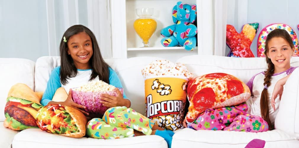 iscream Chocolate Scented Candy Chip Cookie Shaped 16 Microbead Accent Pillow