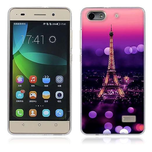 2 opinioni per Huawei Honor 4C / G Play Mini Cover, Fubaoda Alta qualità [Torre Eiffel]