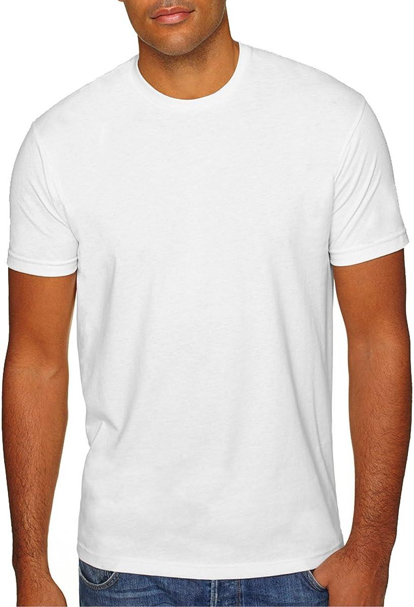 Next Level Men's Premium 1X1 Sueded Baby Rib Collar T-Shirt