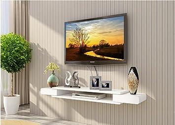 Amazon.de: Wandregal TV-Schrank-Set - Top-Box Regale Wohnzimmer TV ...