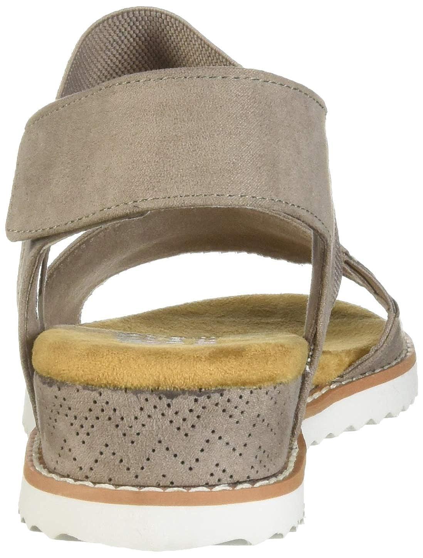 Skechers - Wüstenkuss (Desert Kiss) - elastisch, Viertelriemen, Sandale Damen Damen Damen  806055