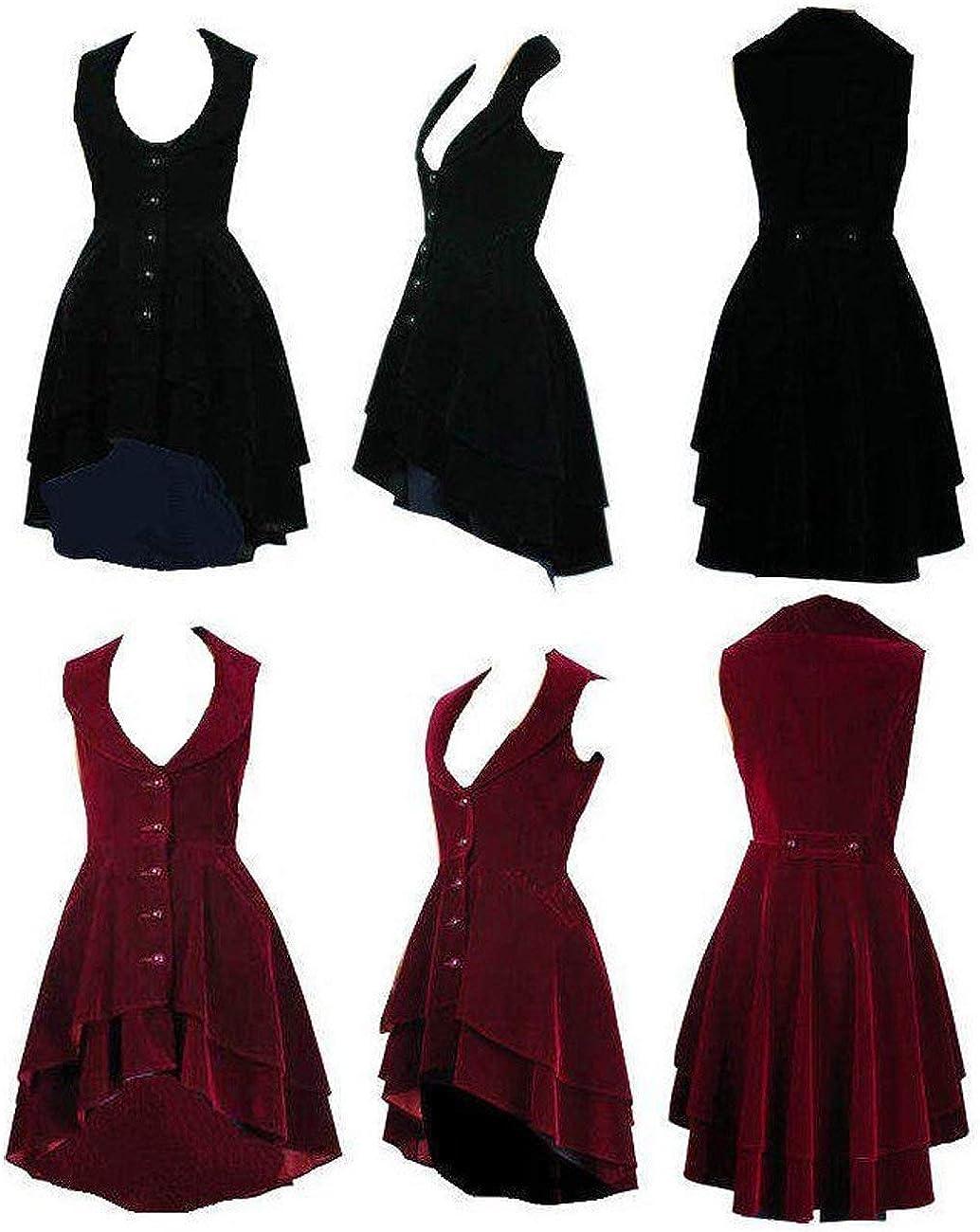 Veste Gilet ou Redingote Velours Lumineux Evas/é Victorien Steam Punk Gothique Tailles 36-58