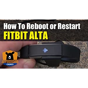 How to Reboot or Reset Fitbit Alta