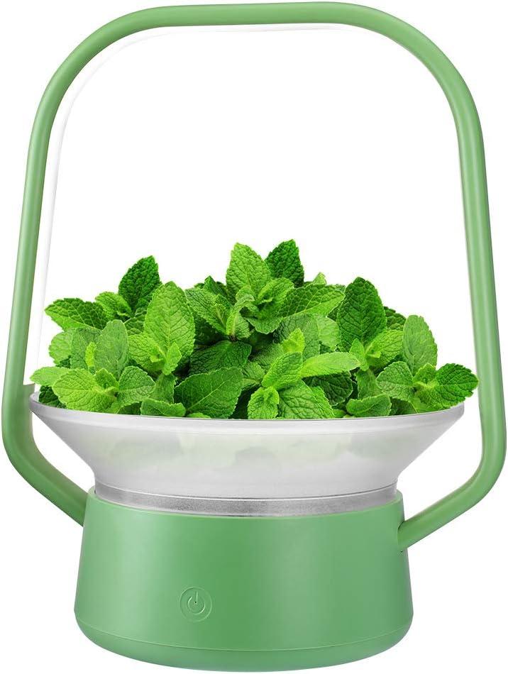 Hydroponics Growing System, Support Indoor Grow, 2020, herb Grower, Grow Smart for Plant, Built Your Indoor Garden(V-Basket-G)