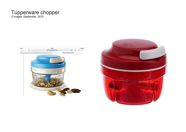 Tupperware Chop n Prep Chef in Blue/Red Color by Tupperware