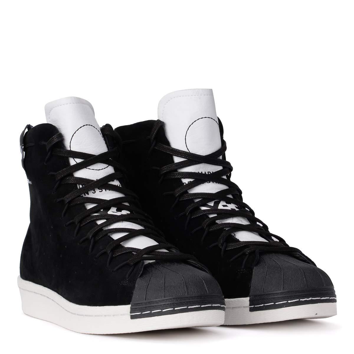 75c1feaf2 Y-3 Men s Sneaker Alta Y-3 Super High in Suede Nero E Pelle Bianca 8(UK)  -8(UK) Multicolour  Amazon.co.uk  Shoes   Bags