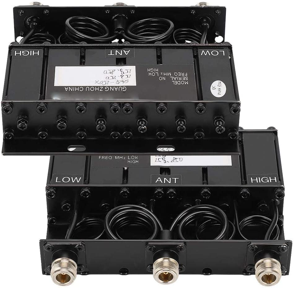 Garsent VHF Duplexer 10W Portable 8-10mhz Duplexer for Radio Repeater 153 150 158 850