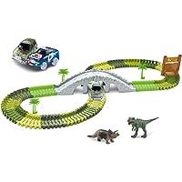 Amewi Magic Traxx 100650 Dino-Park - Juego de Mesa (373 Piezas), diseño de Dinosaurios