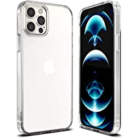 Case Cover for iPhone 13 Pro Max 6.7-Inch, Slim Shockproof Bumper Cover Anti-Scratch Crystal Clear Case for iPhone 13…