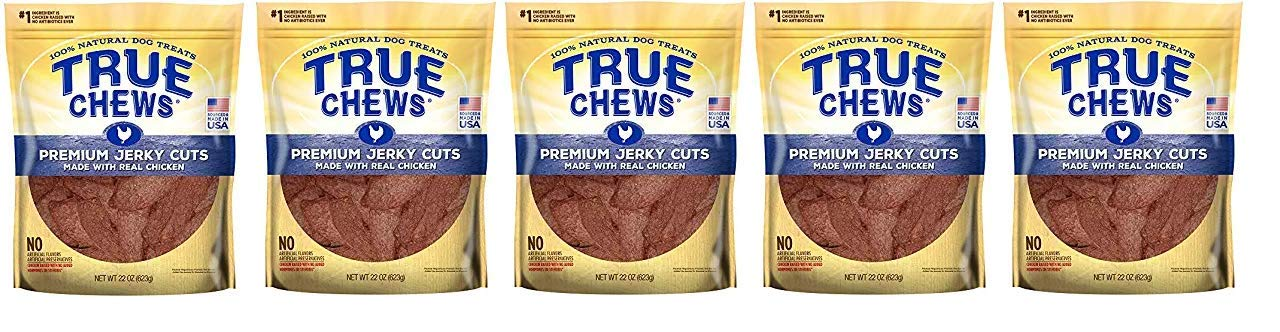 True Chews Premium Jerky Cuts Made with Real Chicken (5-(Pack))