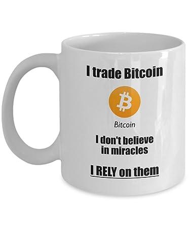 Amazon.com: I Trade Bitcoin Mug - Funny BTC Coffee Mug ...