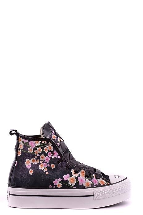 0ee2bef070f10 Converse Mujer 1C15sp14 Multicolor Cuero Zapatillas Altas  Amazon.es   Zapatos y complementos