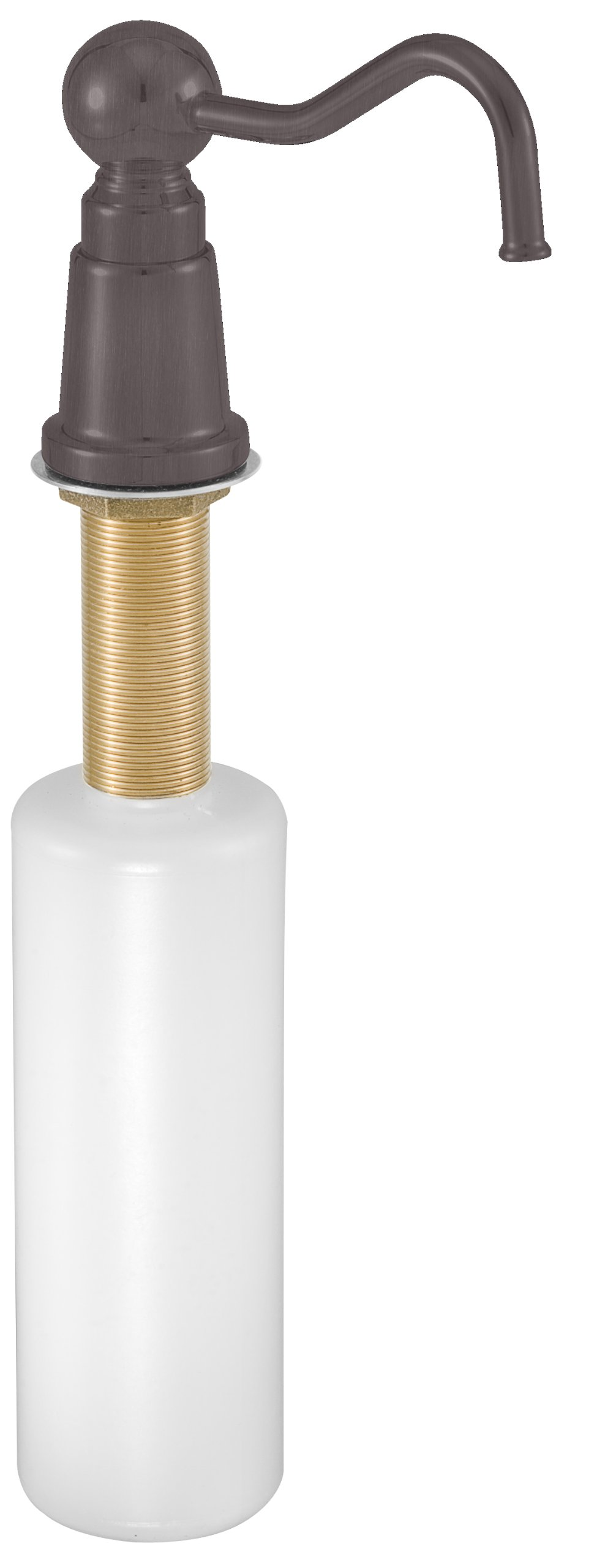 Westbrass Country Style Kitchen Soap/Lotion Dispenser, Oil Rubbed Bronze, D2175-12 by Westbrass