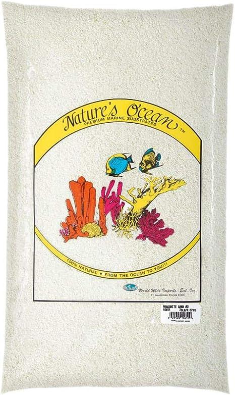 Fish and Aquatic Supplies Aragonite Reef Sand 20lb