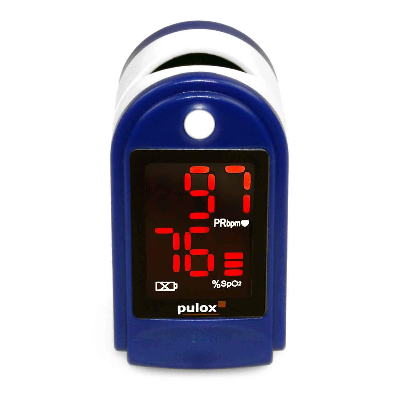 Ox/ímetro Pulox PO-100 pantalla LED