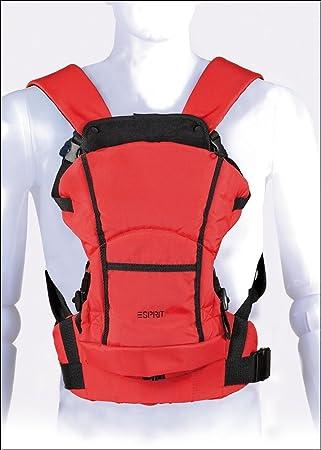 5f2f99046fe26 Esprit 3 Way Carrier Red Bauchtrage und Rückentrage  Amazon.de  Baby