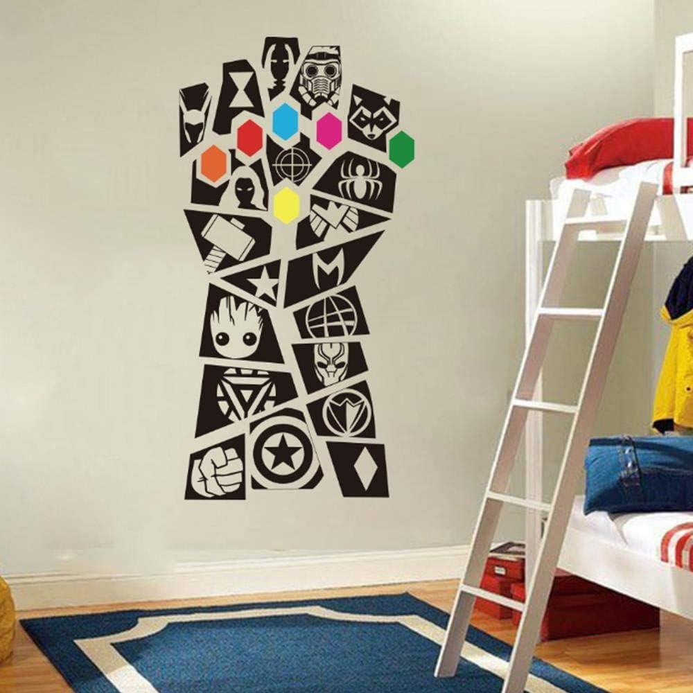 Superhéroe Avengers Tatuajes De Pared Habitación para Niños Sala ...