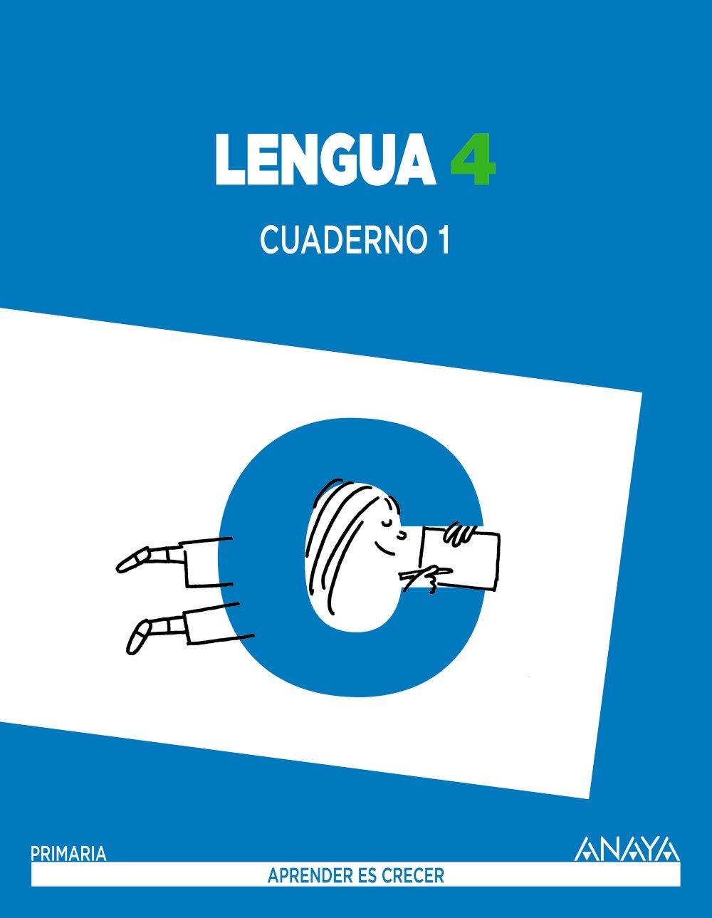 Lengua 4. Cuaderno 1. Aprender es crecer - 9788467877564: Amazon.es ...