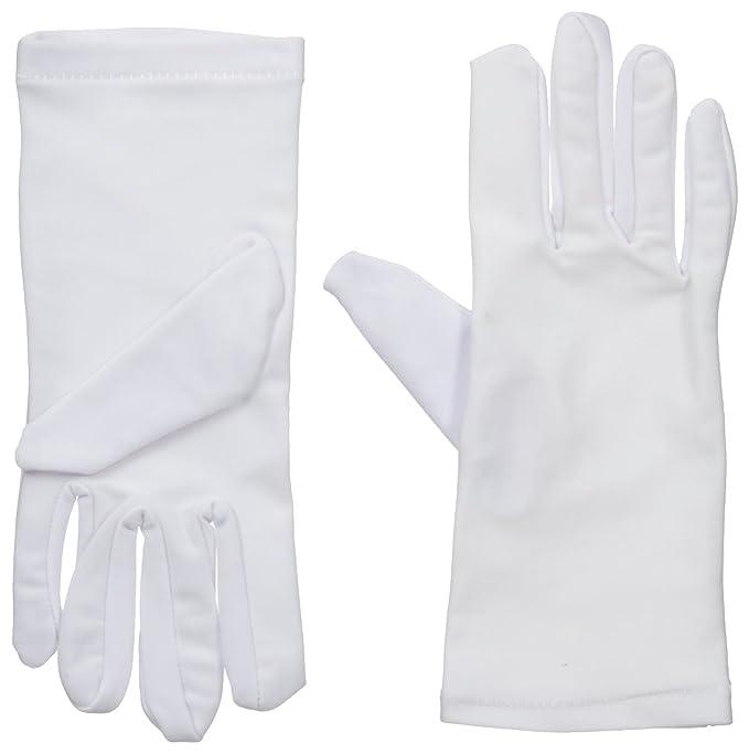 Amazon.com: WDSKY guantes blancos de trabajo para portero ...