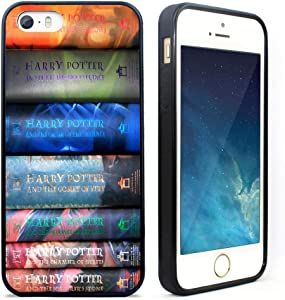 iPhone 5 Case, iPhone 5s Case,iPhone SE Case,VONDER Harry Potter Book Tpu Phone Case Cover for iPhone 5 5S SE