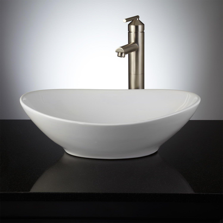 Signature Hardware 392677 Valor 17-5 8 Vessel Bathroom Sink