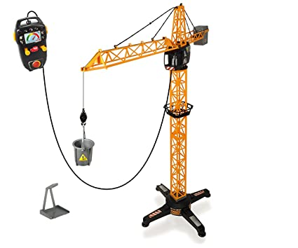 Buy dickie remote control giant crane 100cm yellow online at low dickie remote control giant crane 100cm yellow fandeluxe Gallery