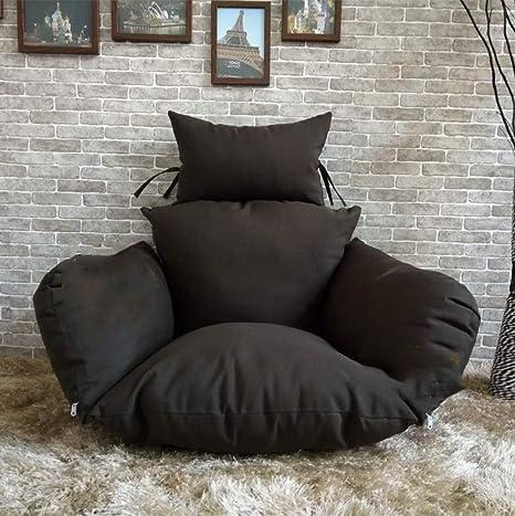 Amazon.com: Cojín para silla de columpio, grueso nido cesta ...