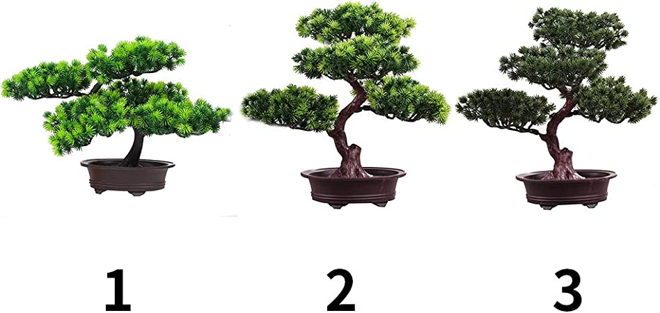 Size : A Arbre artificiel YINGBIN PINE SIMULATION SIMULATION FAUTE PLANTE PLANTE BONSAI PAR JARDIN /À MAISON DE BUREAU DE BUREAU DE BUREAU VERT VERT VERTER VERT/É Arbre darbre Plante Artificielle