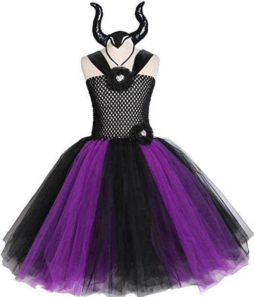 Azly-Cloth Vestido de Tul de múltiples Capas para niña, Princesa ...
