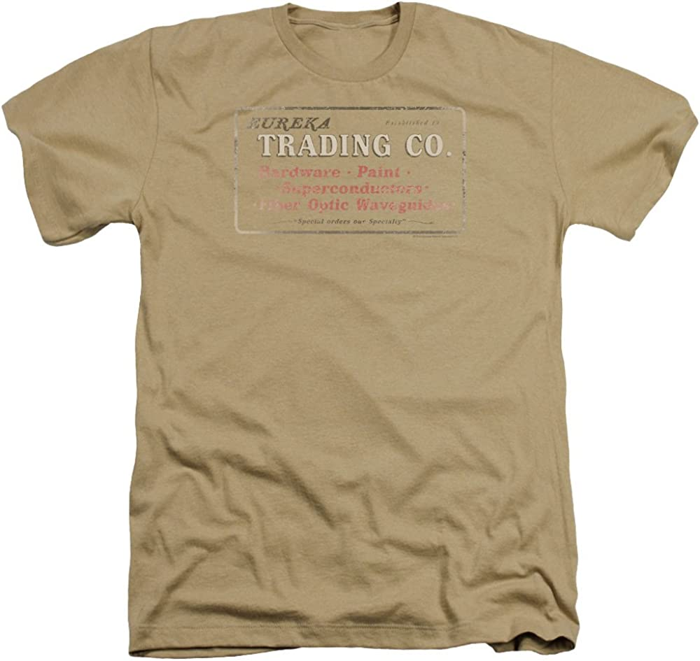 Trevco Men's Eureka Trading Adult T-Shirt