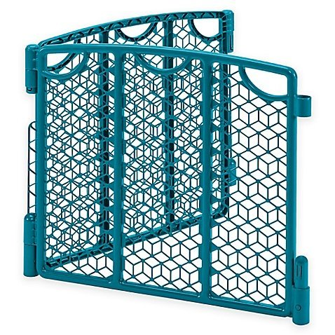 Versatile Play Space Extension For Your Baby Gate Set In Teal