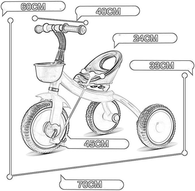 Triciclos Triciclos 2 En 1 Para Niños Triciclos Para Niños De 2 ...