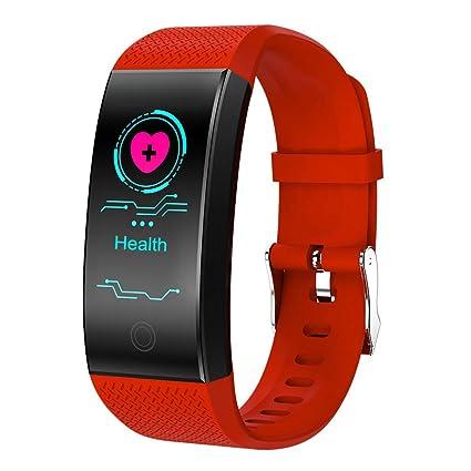 Sallydream Reloj Inteligente,Pulsera de Brazalete de Reloj Inteligente con Monitor de Actividad física y