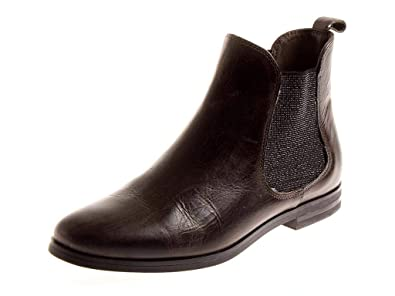Kimkay Klassische Chelsea Boots Stiefelette Lederschuhe