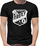 Firefly Badge - Mens T-Shirt - 13 Colours