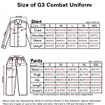 Men Military Paintball Hunting BDU Combat Tactical Gen3 Shirt AOR2