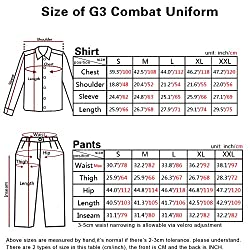 Men Military Paintball Hunting BDU Combat Tactical Gen3 Shirt AOR2