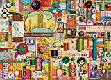 jigsaw puzzles sewing - COBBLE HILL Sewing Notions Puzzle (1000 Piece)