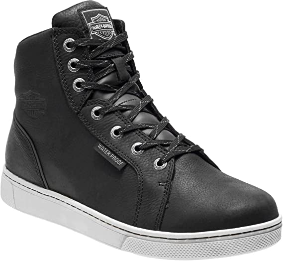 Grey WP Motorcycle Boots D96165 D96166