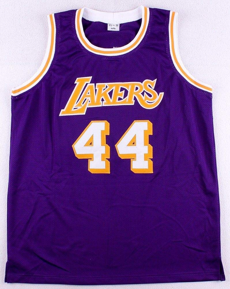 94cde6c02 Jerry West Autographed Signed Los Angeles Lakers Purple Jersey Memorabilia JSA  COA at Amazon s Sports Collectibles Store