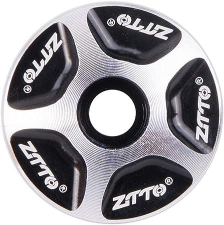 "1pc Aluminum 1 1//8/"" MTB Bike Bicycle Stem CNC Headset Top Cap Cover PA"