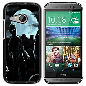 Dragon Case - FOR HTC ONE MINI 2 / M8 MINI - Midnight ghost out - Caja protectora de pl??stico duro de la cubierta Dise?¡Ào Slim Fit