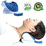 REARAND, cuscino per il rilassamento del collo e delle spalle. Cuscino ortopedico per il sollievo del collo e per il sostegno cervicale, per affievolire il dolore. Ideale per massaggi e trazioni